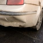 How to repair a dented bumper with a heat gun